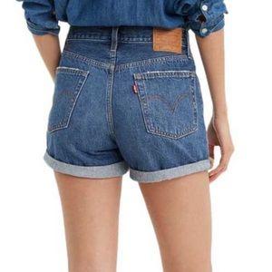Levi's HighRise Shorts